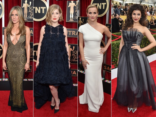A-List Red Carpet at the SAG Awards 2015