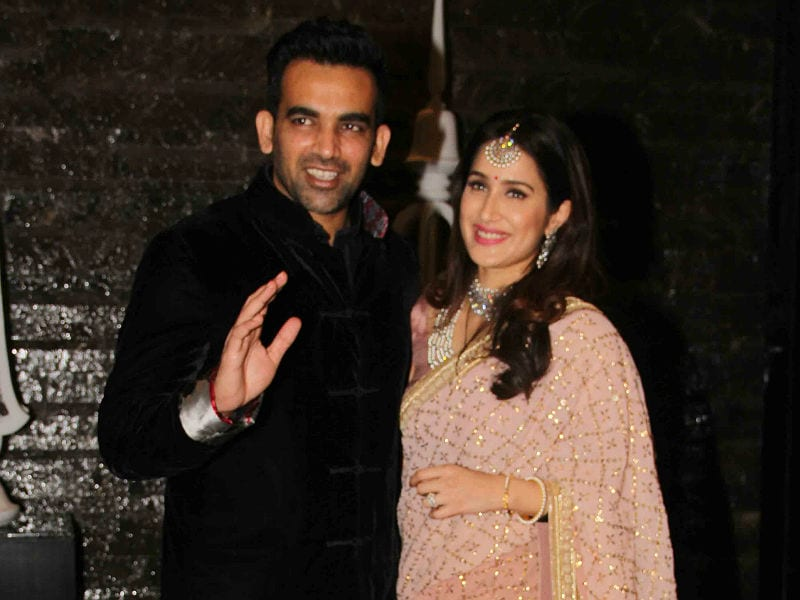 Inside Sagarika Ghatge And Zaheer Khan Reception