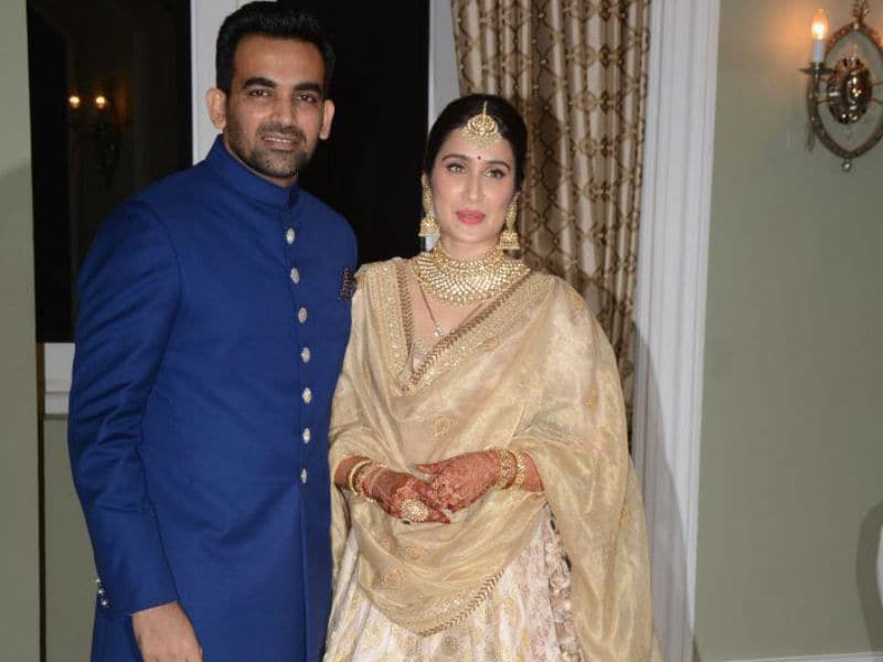 Inside Sagarika Ghatge And Zaheer Khan's Mumbai Reception