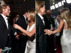 SAG Awards 2020: Jennifer Aniston, Brad Pitt's Backstage Reunion Will Melt Your Heart