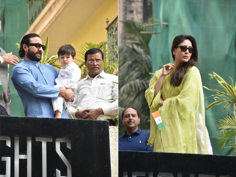 Kareena Kapoor And Saif Ali Khan's Republic Day Celebration with Little Taimur