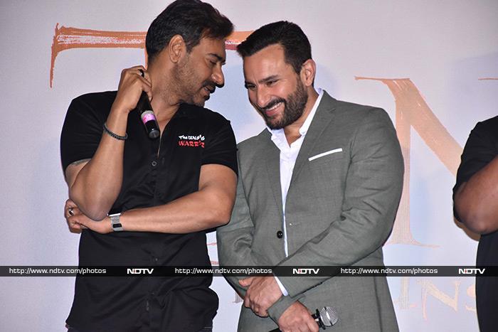 Enemies In Tanhaji, Buddies IRL: They Are Ajay Devgn And Saif Ali Khan