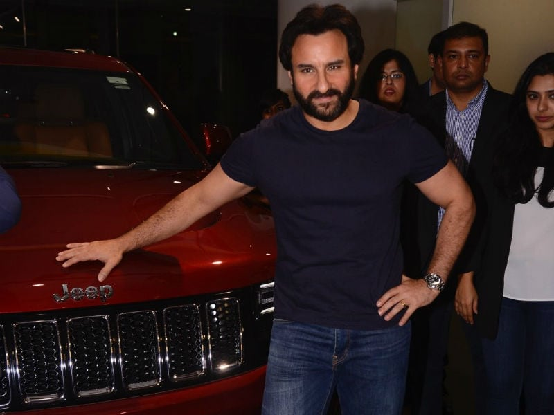 Care For A Ride In Saif's Swanky New Car?