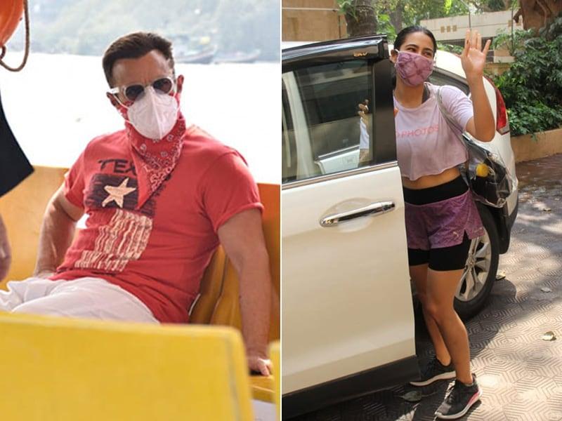 Photo : कुछ इस तरह सैफ अली खान और सारा अली खान ने बिताया अपना विकेंड