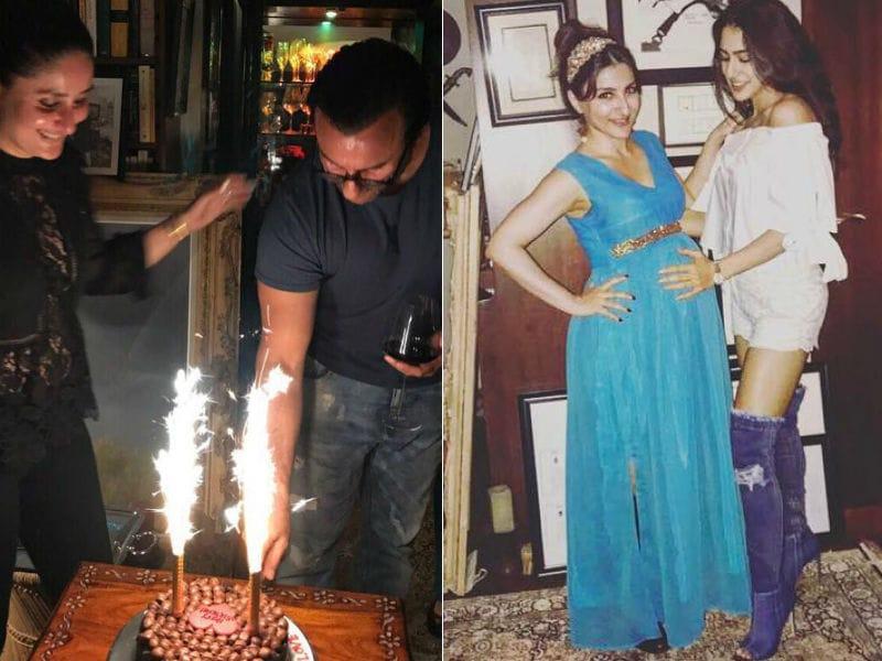 Inside Saif Ali Khan's Birthday Party With Kareena, Sara, Soha