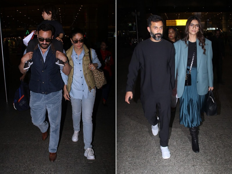 Kareena-Saif, Sonam-Anand Are Back To Base
