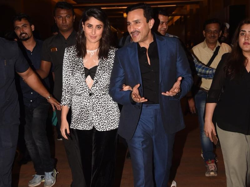 All Eyes On Saif And Kareena