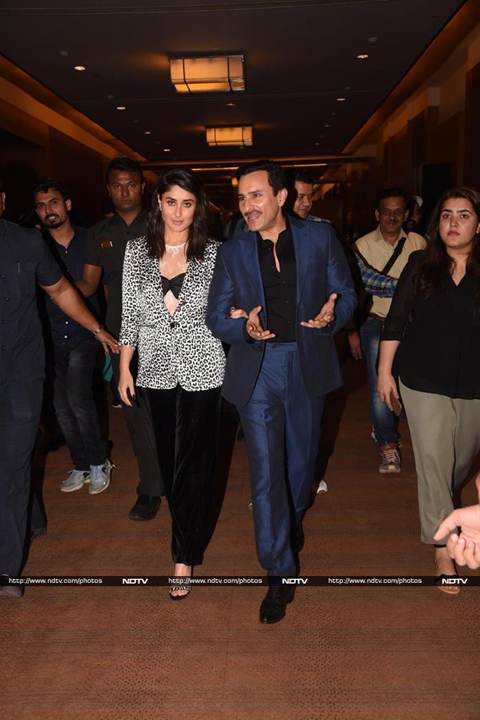 All Eyes On Saif And Kareena