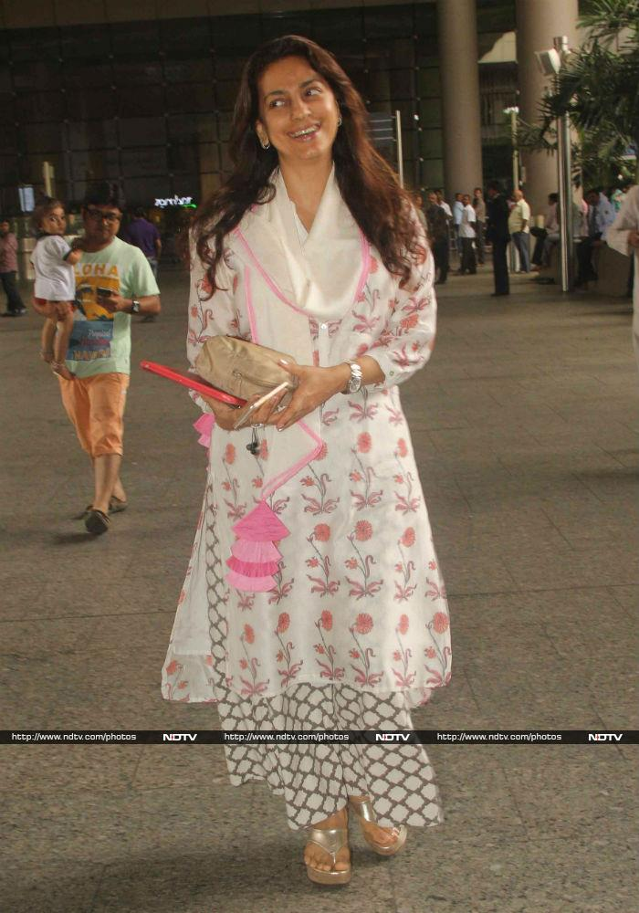 Kareena Kapoor and Saif Ali Khan\'s Airport Tashan