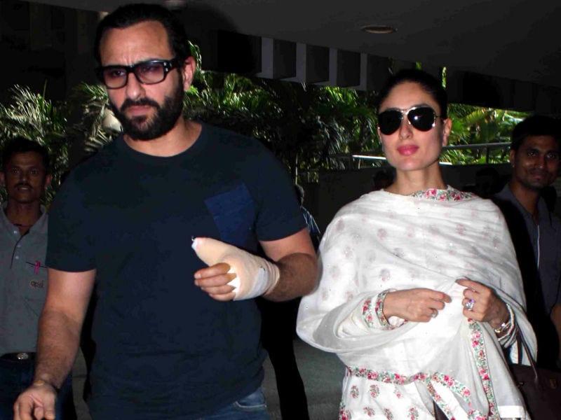 Kareena Kapoor and Saif Ali Khan's Airport Tashan