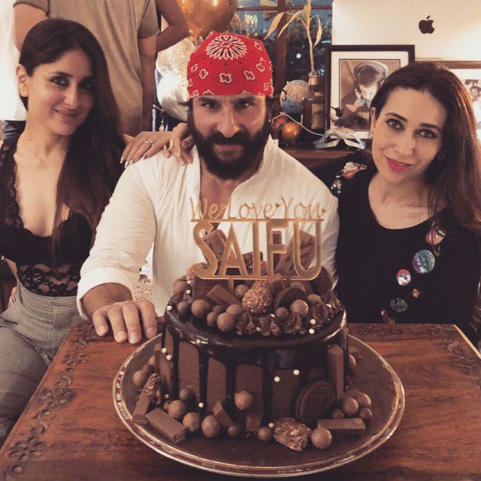 Rocking Pics From Saif Ali Khan\'s Birthday Bash
