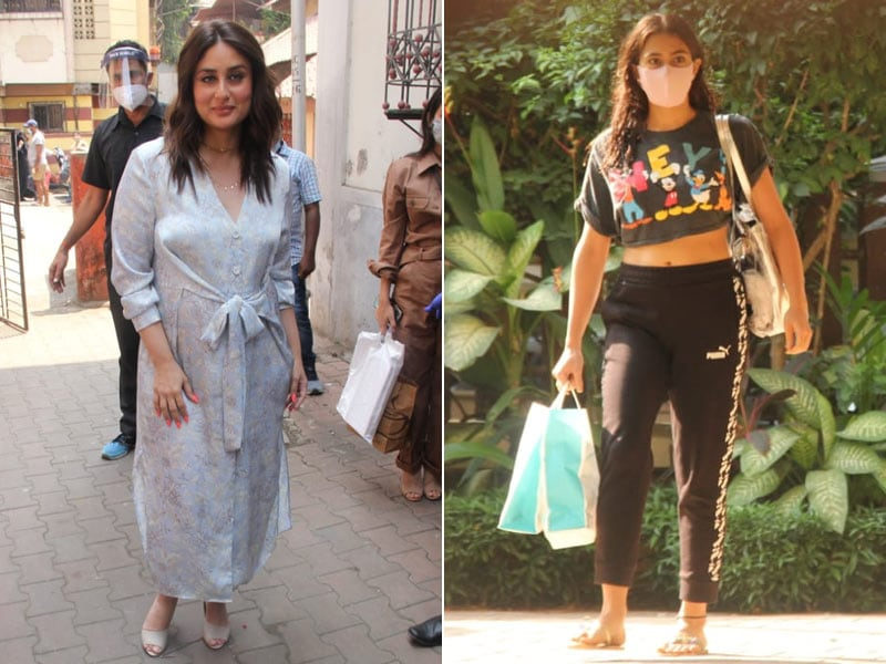 Photo : How Kareena Kapoor, Sara And Saif Ali Khan Started The Week