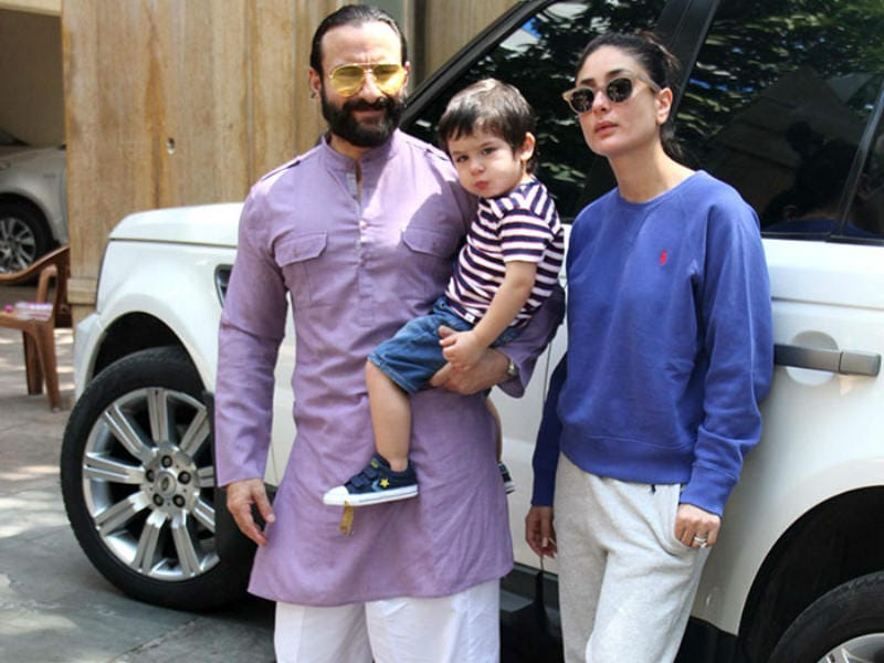 Taimur's Day Out With Mom Kareena And Dad Saif