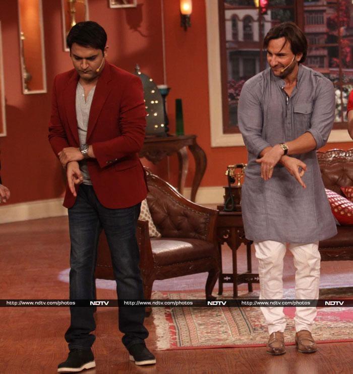 No Kareena, no Sonakshi. But Saif\'s not complaining