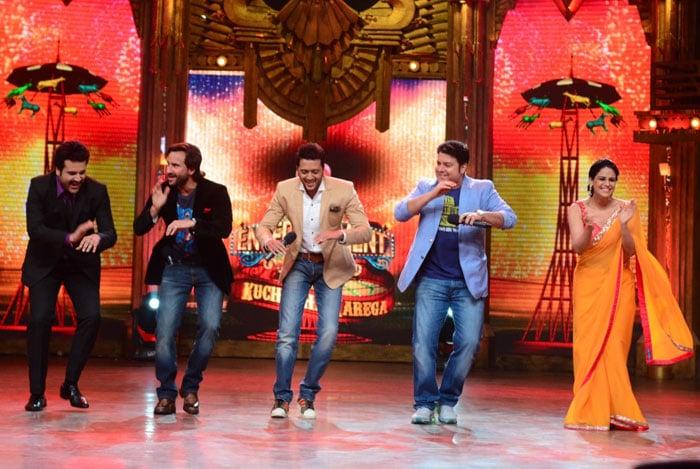 Entertainment Ke Liye Humshakals Bhi Banega: Saif, Riteish, Sajid