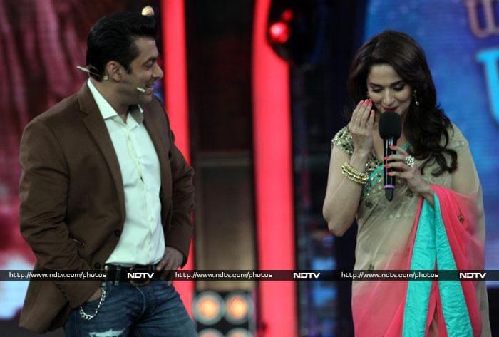 Salman, Madhuri can\'t get over Hum Aapke Hai Kaun