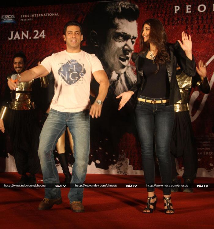 Salman, Daisy\'s dance night