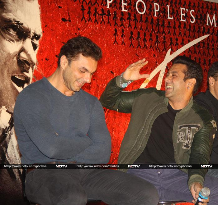 Salman, Arbaaz, Sohail ki Jai Ho