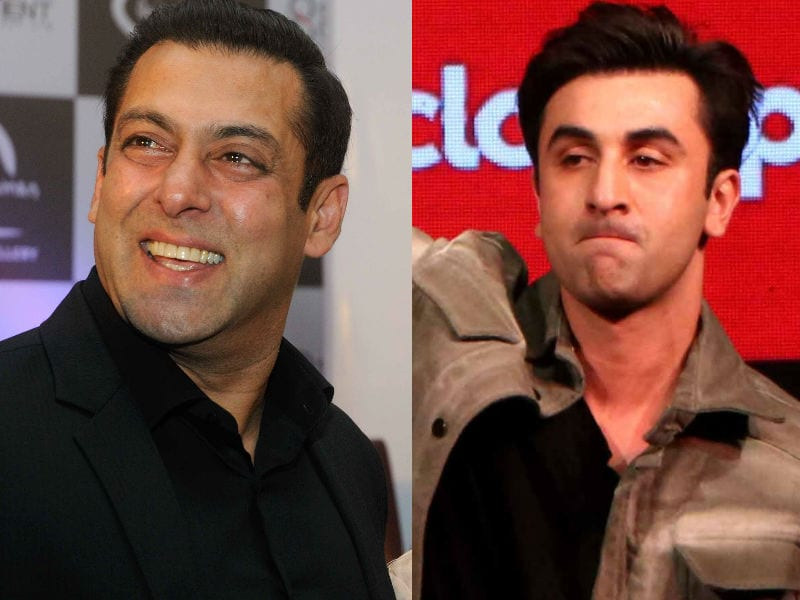 Salman Khan and Ranbir Kapoor's Ghazab Night Out