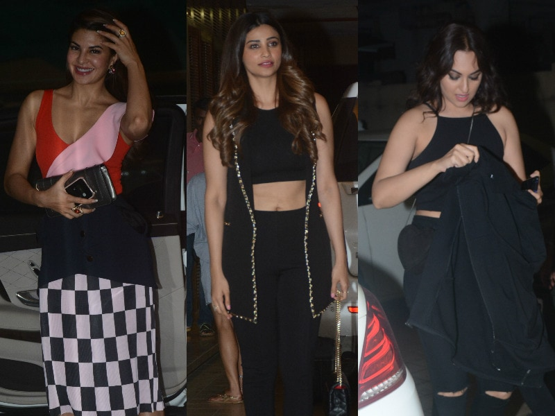 Jacqueline, Daisy, Sonakshi Race To Kick-Start The After-Party