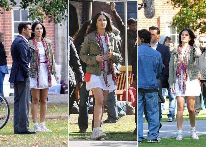 Salman, Katrina shoot for Ek Tha Tiger
