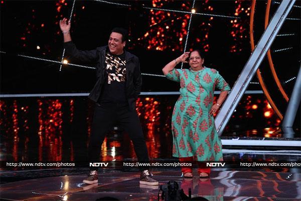 'इंडियन आइडल' के सेट पर सलमान खान ने किया गरबा