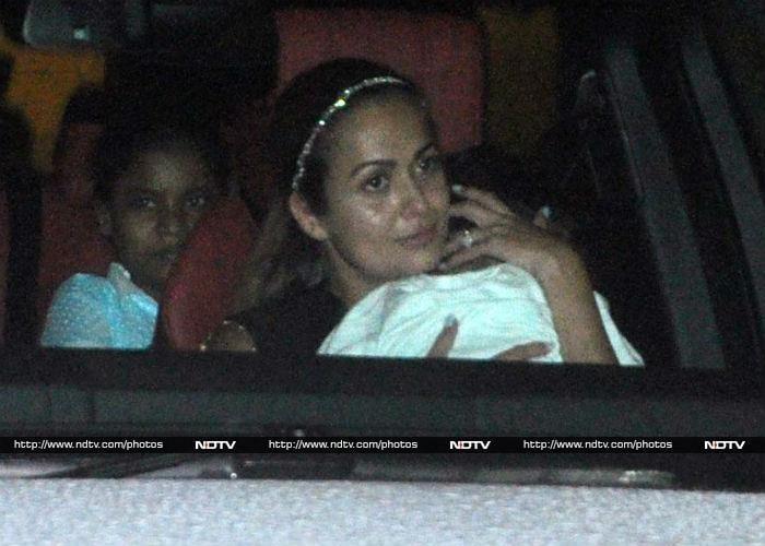 Salman Khan and Iulia Vantur Arrive at Arpita\'s Party Together