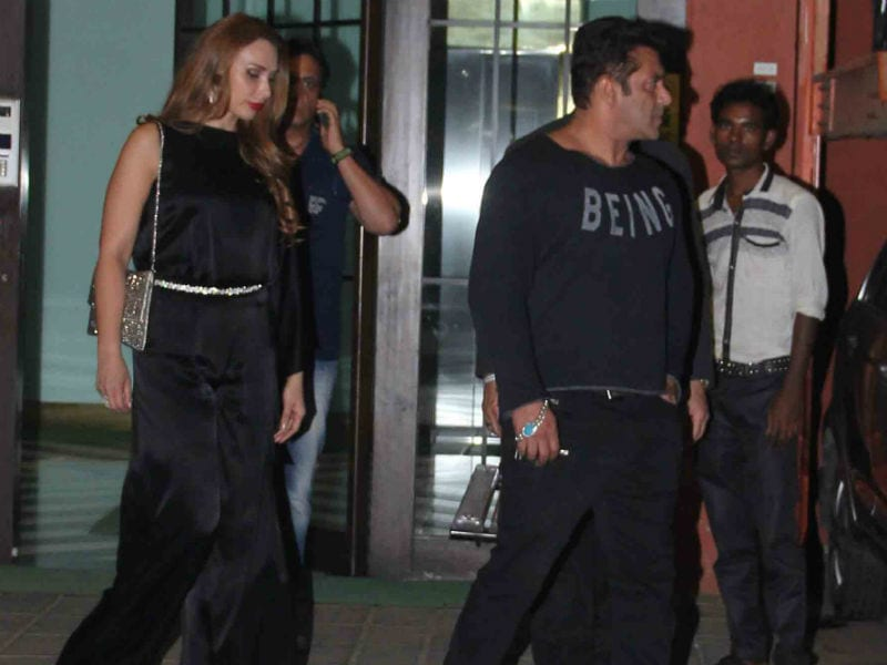 Salman, Iulia And Katrina Party Together