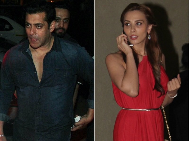 Iulia Vantur, Lady In Red At Salman's Fam-Jam