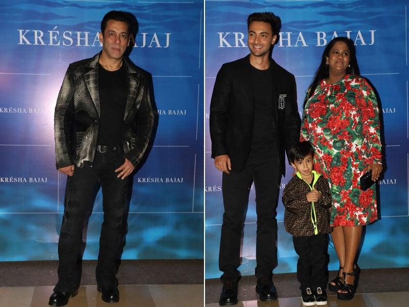 Catching Up With Salman Khan, Arpita And Aayush Sharma