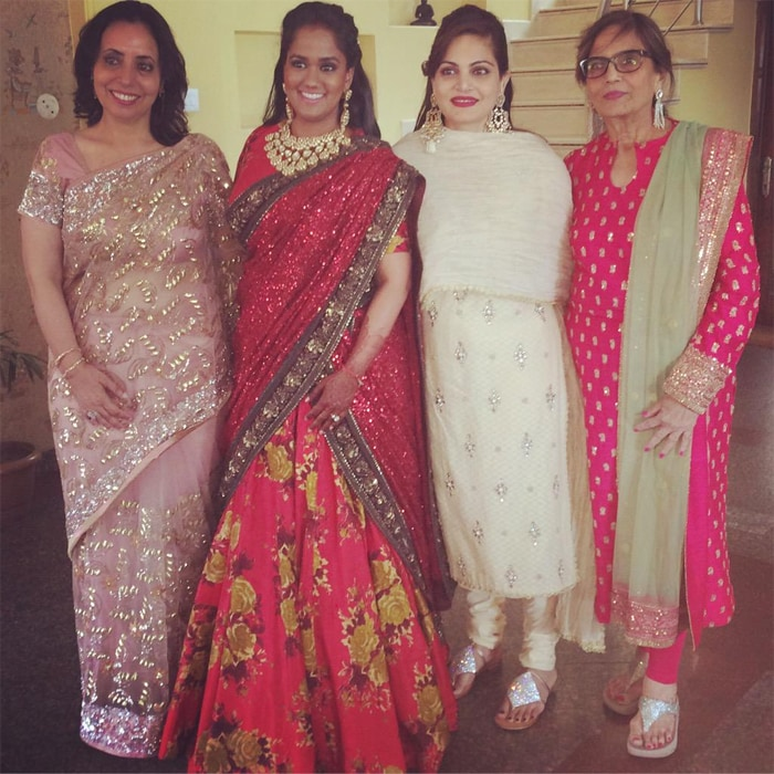 Inside Pics of Arpita\'s Mandi Reception, Starring Salman Khan