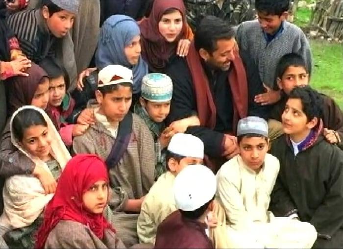 Salman Khan in Kashmir, Filming Bajrangi Bhaijaan