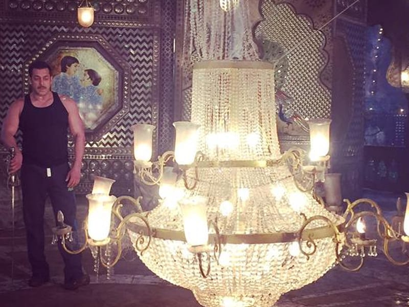 Revealed: Salman Khan's Moustachioed Look For Prem Ratan Dhan Payo