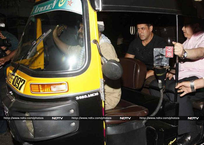 \'Tubelight\' Salman Khan Lights Up Bandra With Jasoos Katrina Kaif