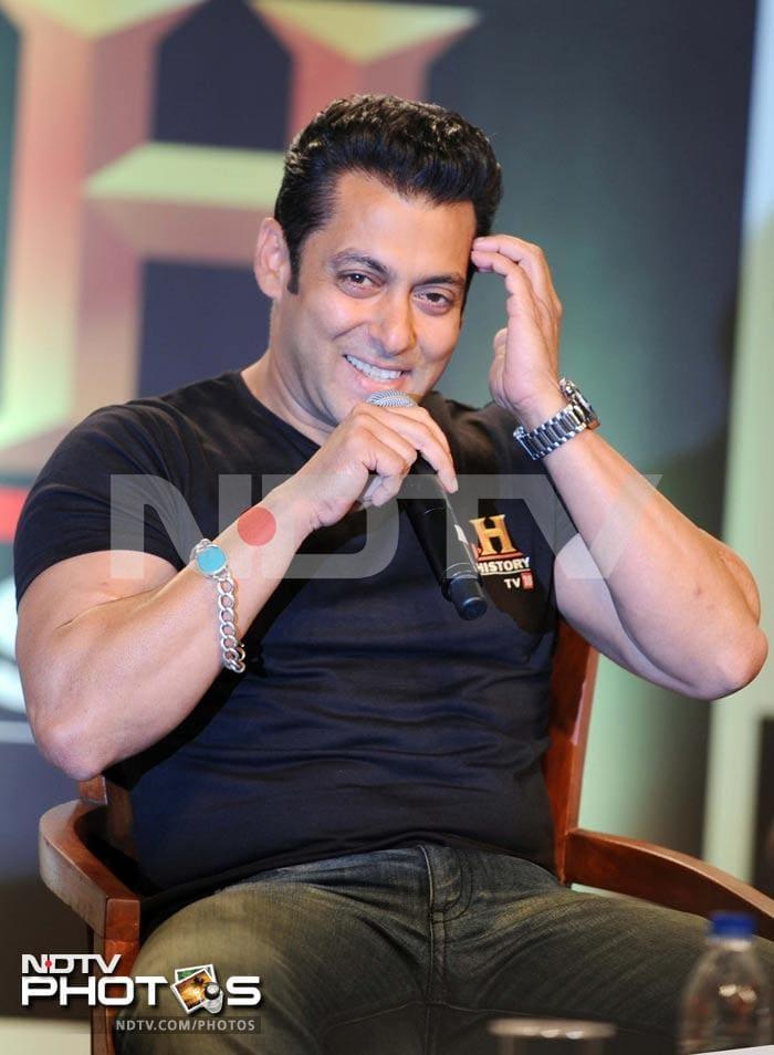 Salman Khan is back in Mumbai