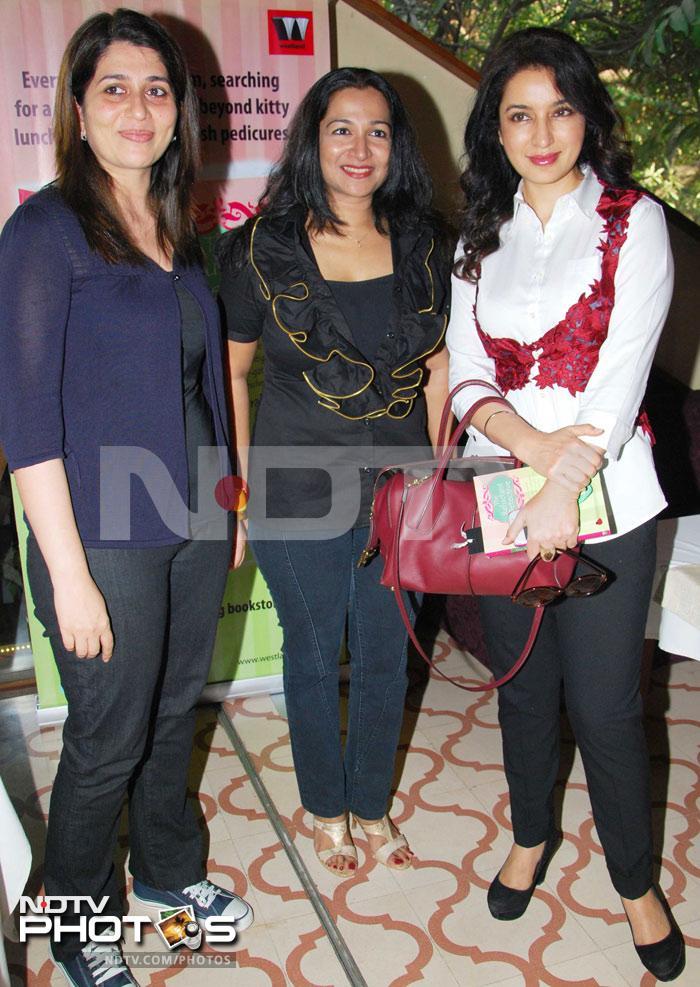 Tisca Chopra at Kiran Manral book launch