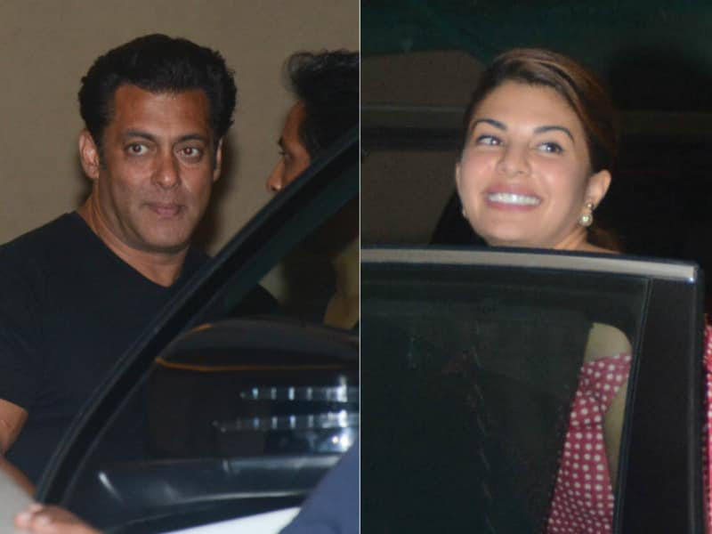 Salman And Jacqueline's Race Ends At A Party