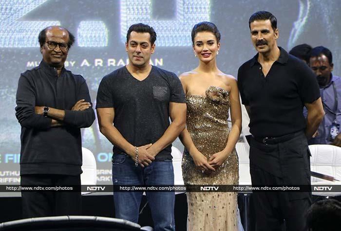 A Salman Khan Surprise, Starring Rajinikanth, Akshay Kumar