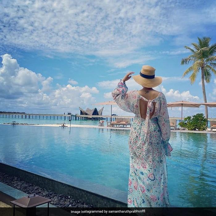 Samantha Ruth Prabhu\'s Maldives Wardrobe Is Pastel Heaven