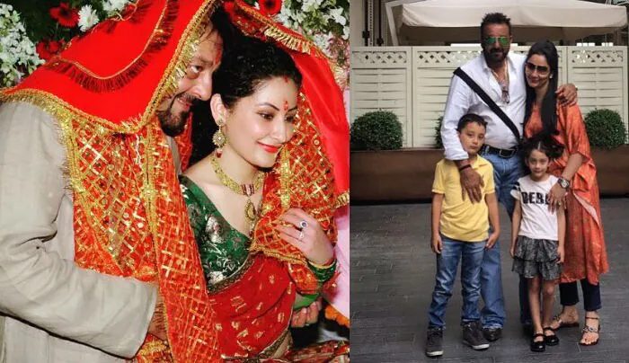 Sanjay Dutt married Maanyata in February 2008 after a two-year courtship and the couple are parents to twins - a boy named Shahraan and a girl named Iqra.  Images courtesy Instagram