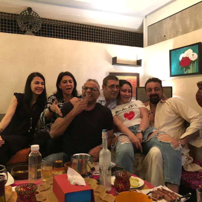 Sanjay Dutt has two sisters named Priya and Namrata. Priya is a politician and is married to Owen Roncon while Namrata is married to actor Kumar Gaurav.  Image courtesy Instagram