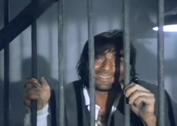 In 1993, Sanjay Dutt was arrested for illegal possession of arms and spent 18 months in jail. Three weeks after his arrest, his film Khalnayak released, co-starring Madhuri Dixit and Jackie Shroff. It went on to become a super hit and established Sanjay amongst the top-rung of Bollywood actors. It also earned him his second Filmfare nomination.
