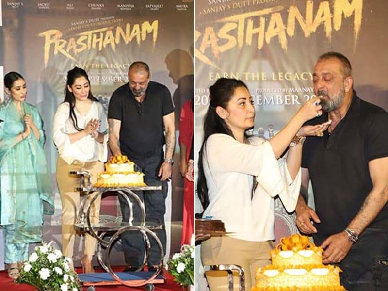 Sanjay Dutt's Birthday Gift To Fans - Prasthanam Teaser