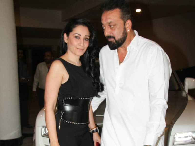 When Sanjay Dutt And Maanyata Put On Their Party Shoes