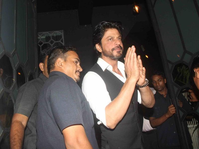 SRK, Aishwarya, Sonam Celebrate With Sanjay Leela Bhansali