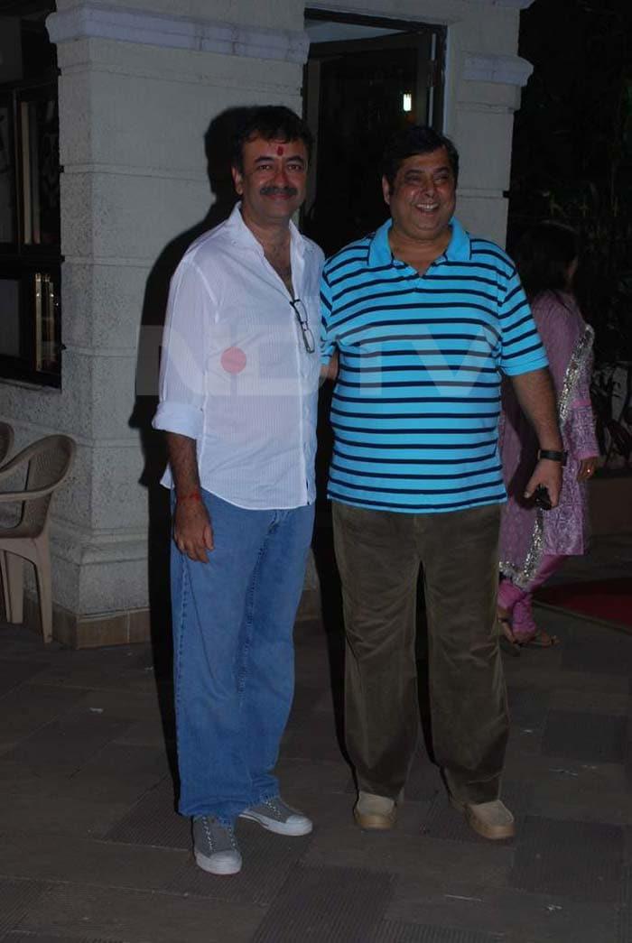Stars at Sanjay, Manyata\'s Mata Ki Chowki