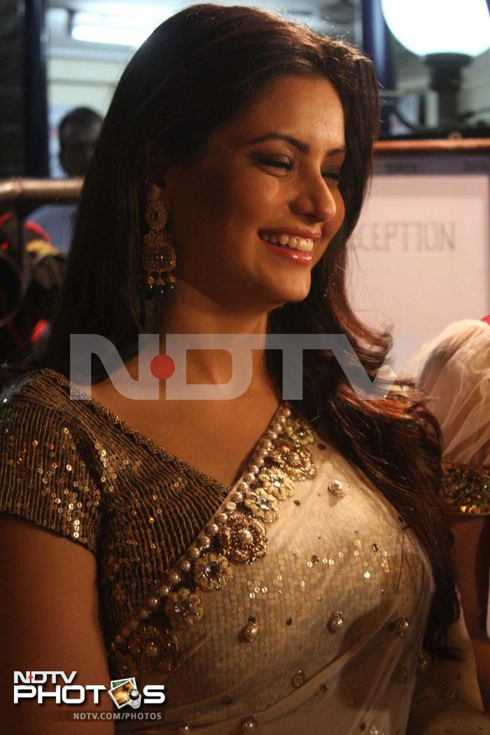 Aamir-Sanjeeda\'s wedding reception