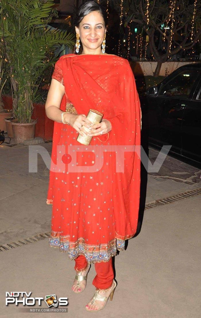 Sangeet ceremony of Aamir Ali, Sanjeeda Sheikh