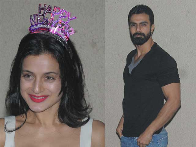 Ameesha, Ashmit Rock Sanjay Dutt's New Year Party