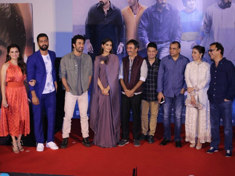 All The Fun From Sanju Trailer Launch